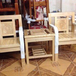 bộ bàn ghế quán cafe vuông