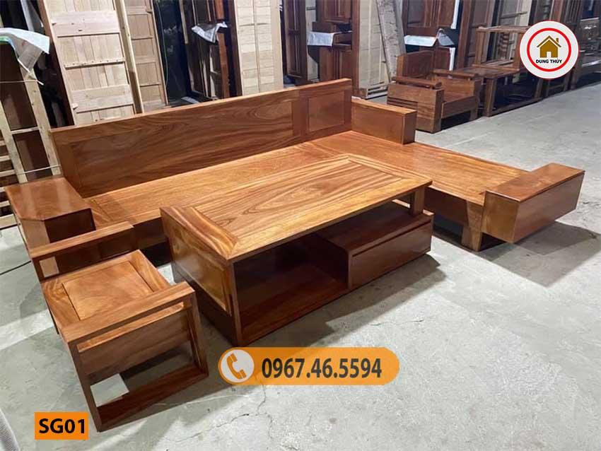 ghế sofa đẹp cho phòng khách SG01