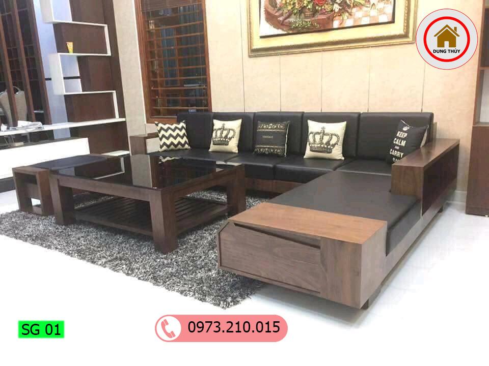 sofa góc chữ L SG01