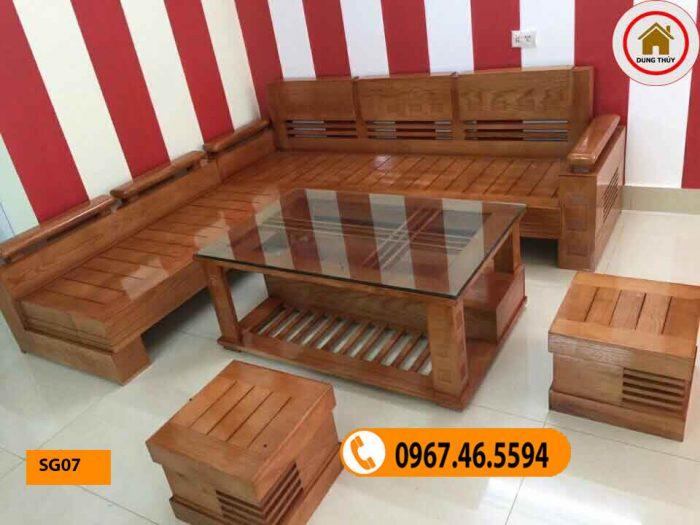 có nên mua bàn ghế gỗ sồi không SG07