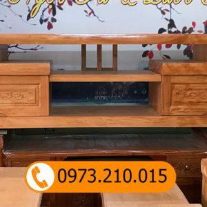 kệ tivi gỗ hương KT01