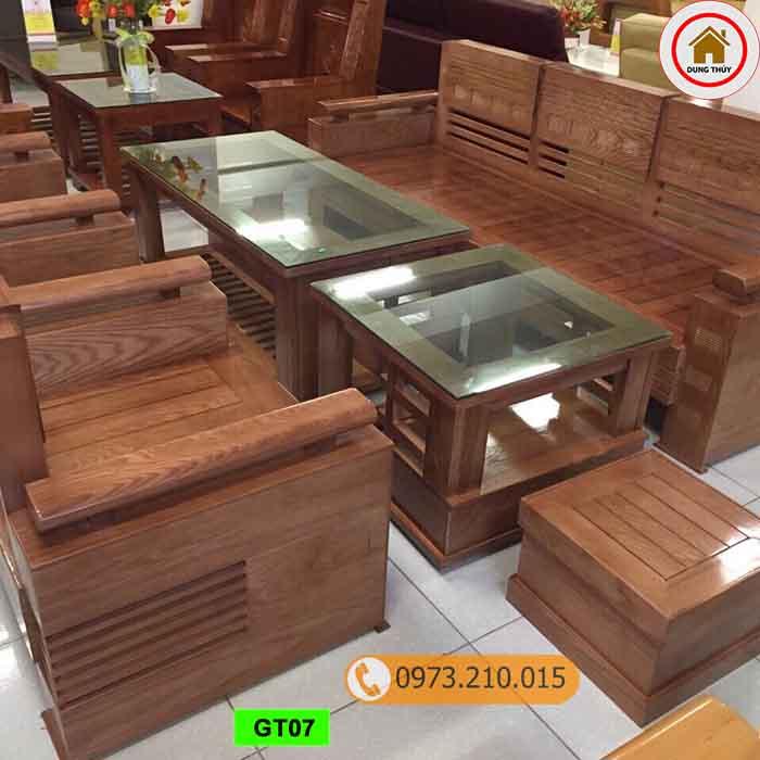 bộ ghế gỗ tựa trứng bộ gỗ sồi Nga GT07