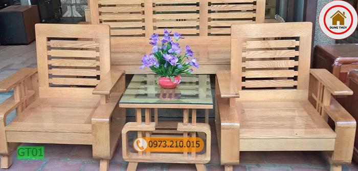 bàn ghế gỗ phòng khách dưới 5 triệu