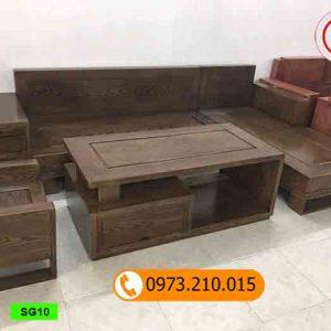 bộ ghế sofa góc chữ L ghép SG10