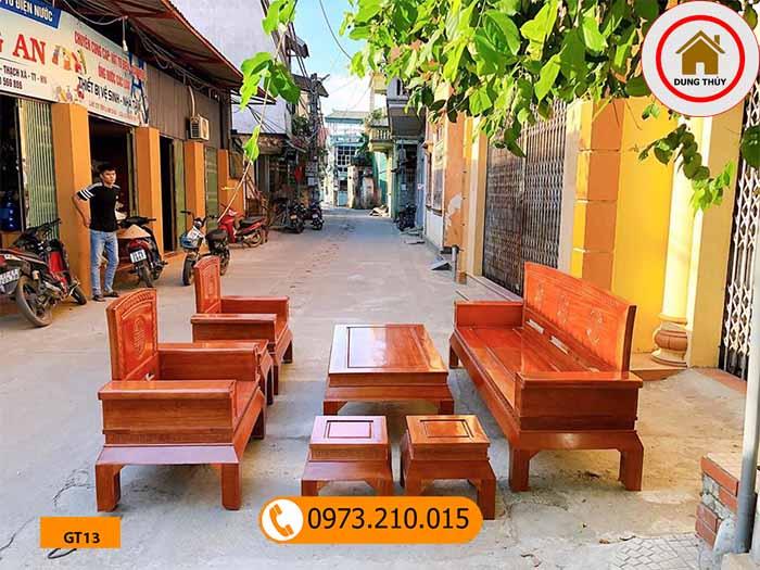 Bộ ghế Hoàng cung gỗ sồi Nga GT13