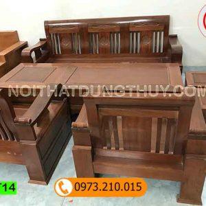bộ ghế cuốn thư gỗ sồi Nga GT14