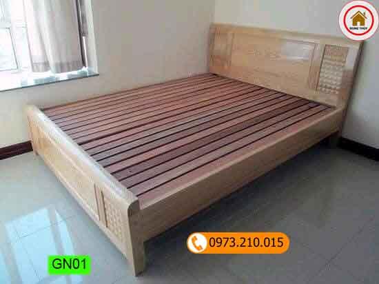 giường ngủ phong cách đơn giản GN01