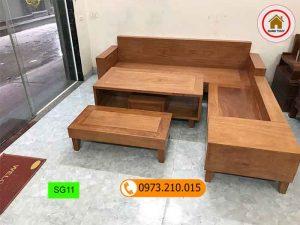 sofa hộp gỗ đinh hương SG11