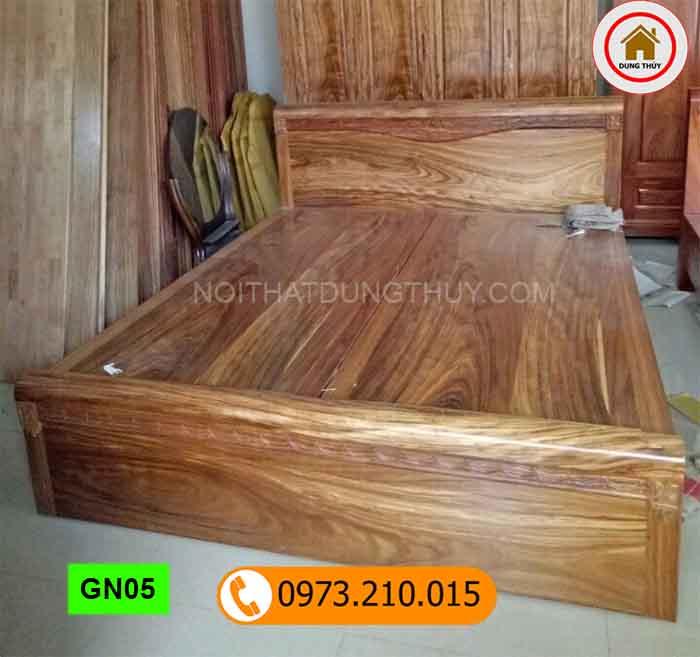 Giường ngủ gỗ hương xám cao cấp GN05