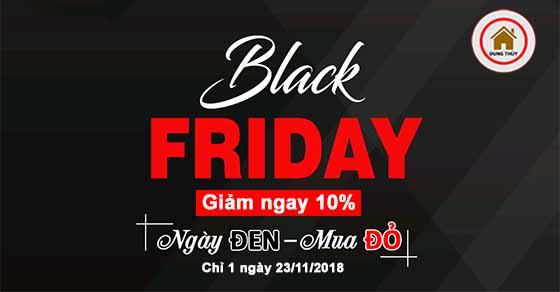 [Black Friday 2018] Ngày đen Mua đỏ – Giảm tới 10%