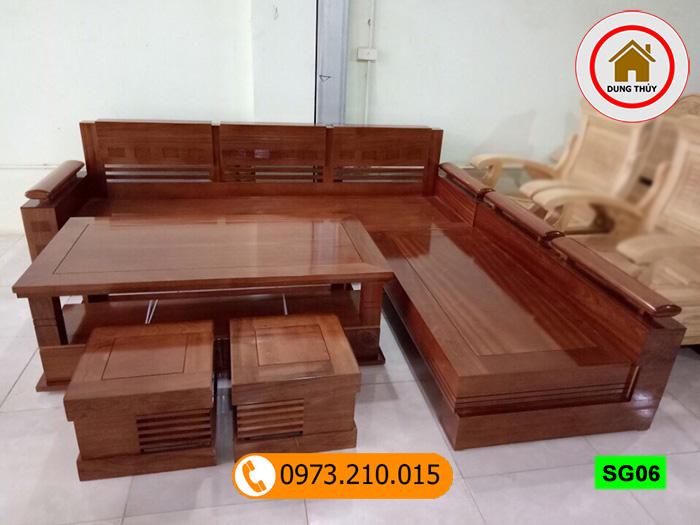 Xem ngay 5 mẫu bàn ghế gỗ đẹp cho phòng khách được ưa chuộng 2019