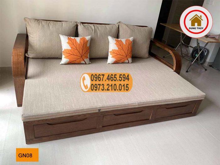 giường gấp thành ghế sofa GN08
