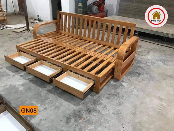 giường ngủ ngăn kéo GN08