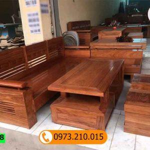 bộ ghế sofa gỗ đinh hương SG18