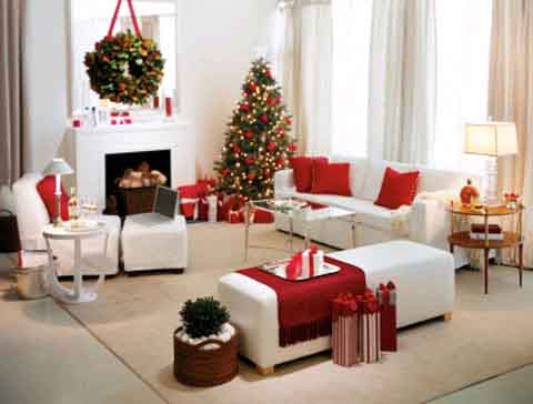 Mẹo trang trí phòng khách đón Noel cho căn hộ chung cư