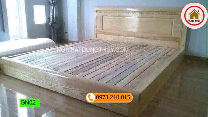 Top 3 mẫu giường ngủ gỗ đẹp giá rẻ bán chạy 2019