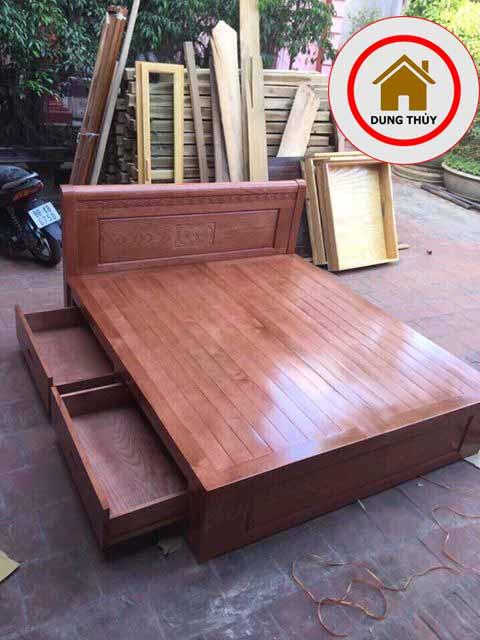 Địa chỉ mua bán giường ngủ bằng gỗ ở Hà Nội 2019