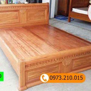 giường ngủ cao cấp gỗ hương vân GN10
