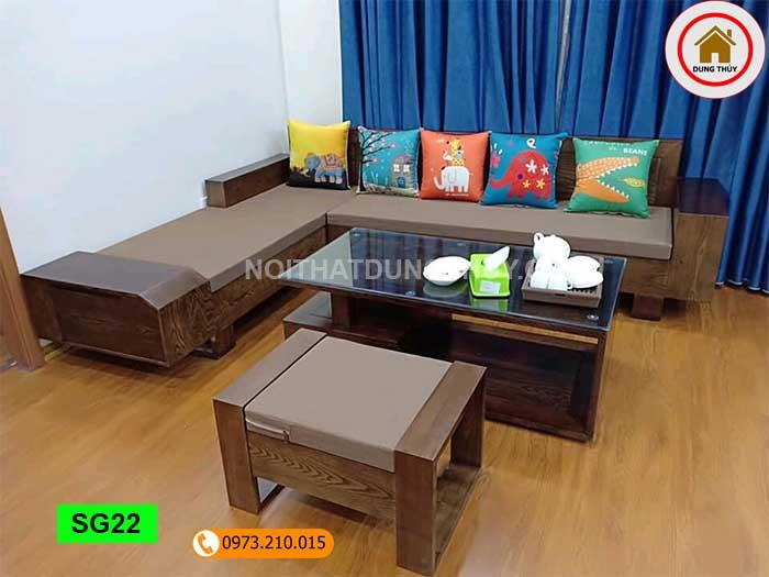 Xu hướng bàn ghế gỗ cho nội thất phòng khách đẹp 2020