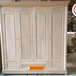 tủ đựng quần áo 5 buồng gỗ sồi Nga TG04