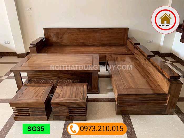 Mua bàn ghế sofa gỗ ở đâu tốt tại quận Cầu Giấy?