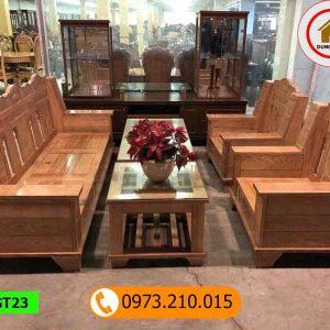 Bộ ghế Như ý gỗ sồi Nga GT23