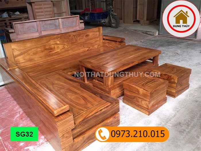 Địa chỉ mua bàn ghế gỗ tự nhiên tại Hà Nội 2020