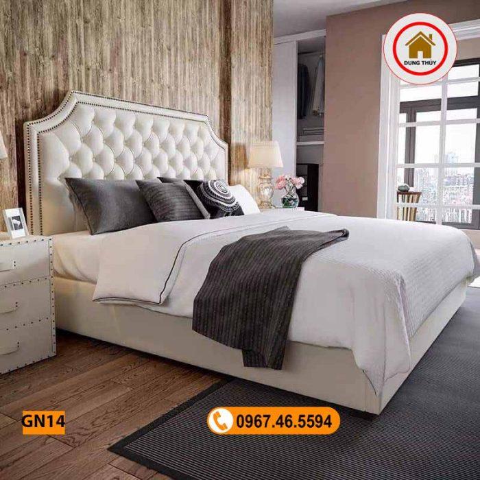 giường ngủ gỗ công nghiệp GN14