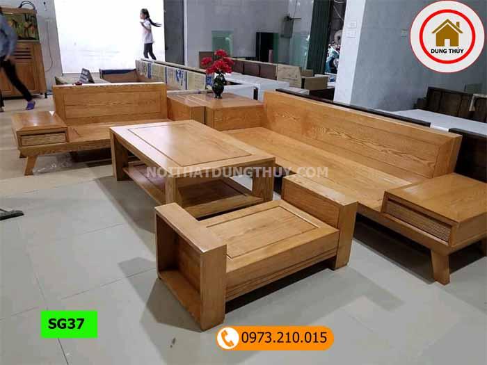 Top 5 bộ bàn ghế gỗ tự nhiên để tiếp khách bán chạy 2019