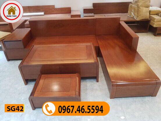 mẫu bàn ghế gỗ mới nhất SG42