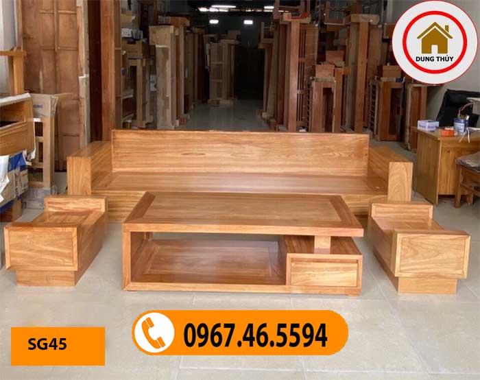 những bộ bàn ghế gỗ đẹp nhất SG45
