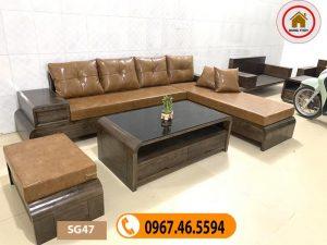 các mẫu bàn ghế phòng khách đẹp SG47