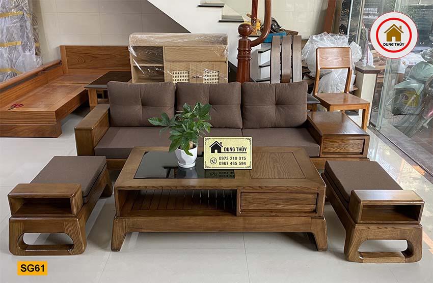 sofa chân quỳ SG61 đẹp xịn