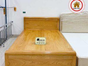 Giường hộp gỗ gõ đỏ GN21