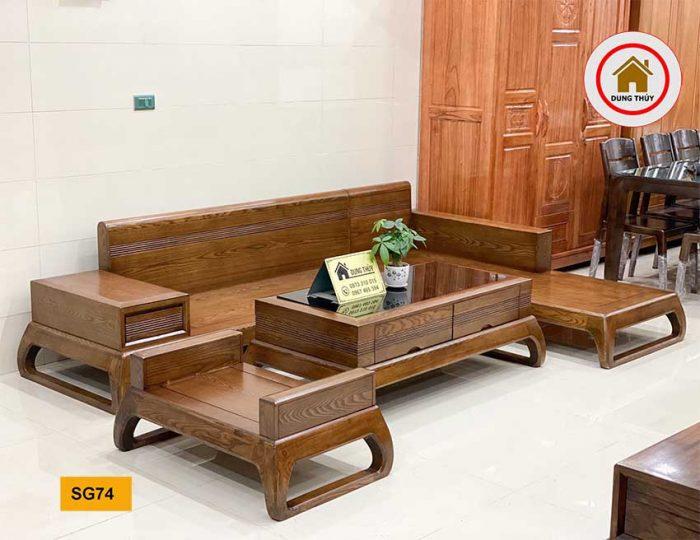 sofa chân vòng choãi SG74