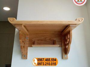 Bàn thờ treo tường gỗ sồi Nga BT03