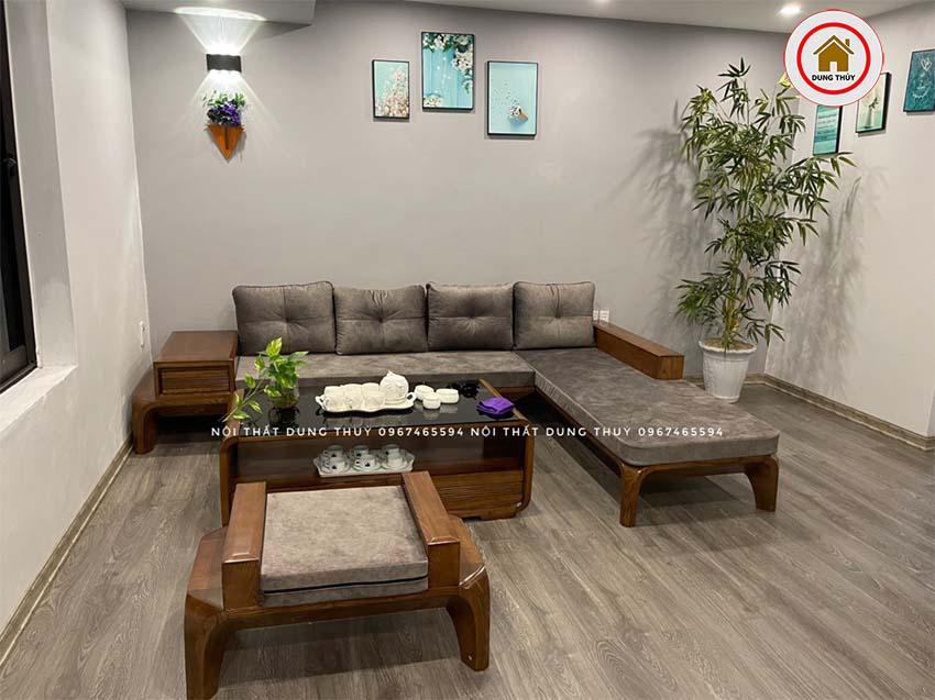 sofa gỗ Quảng Ninh